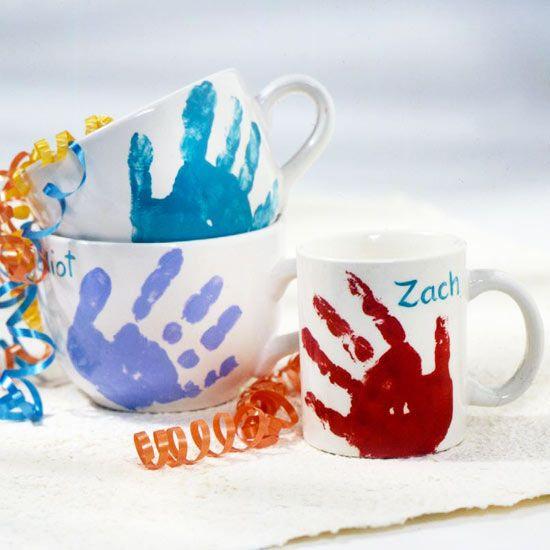 Geschenke Für Mama Basteln  Teetassen Geschenke Kinder Bastelideen