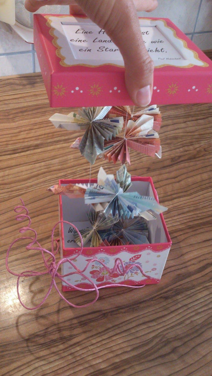 Geschenke Für Mama Basteln  Alltag einer 2fach Mama Geldgeschenk zur Hochzeit DIY