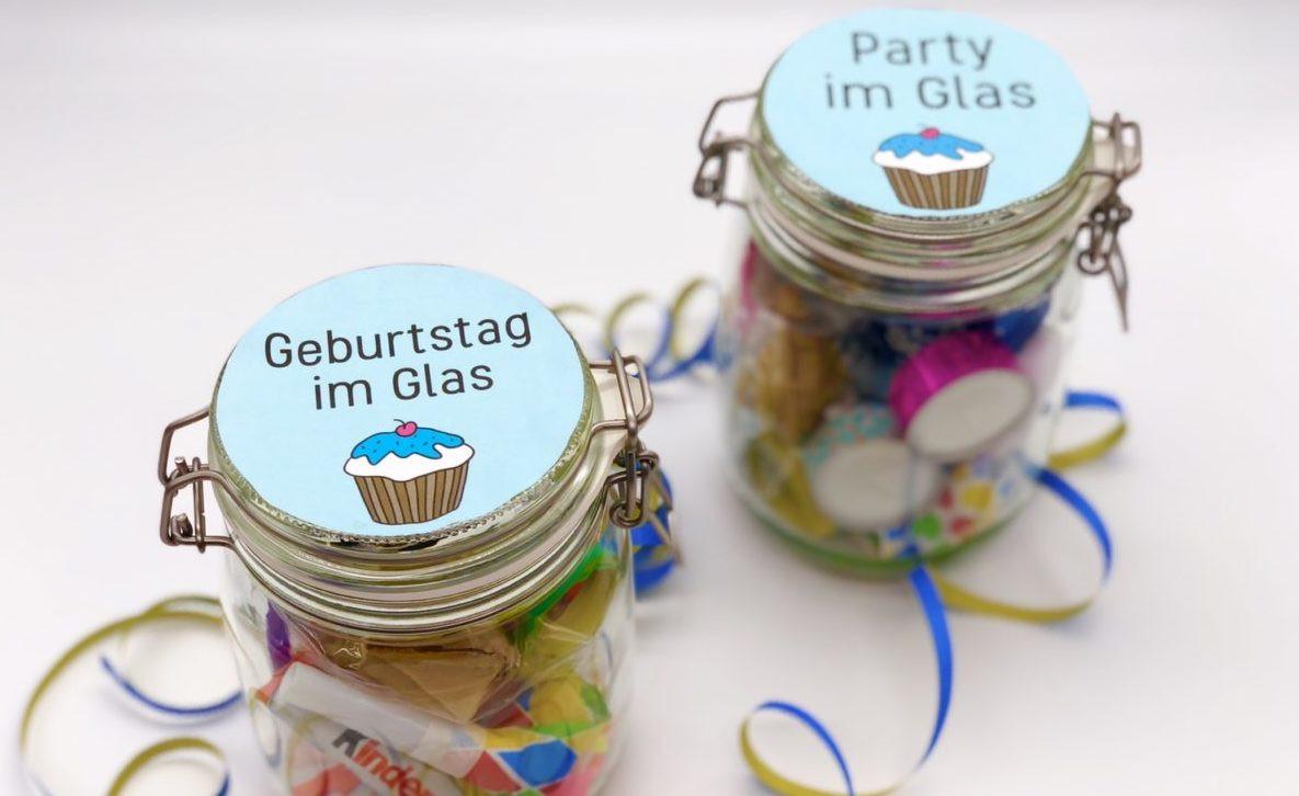 Geschenke Für Männer Zum Geburtstag Selber Machen  DIY Geschenke zum Geburtstag einfache Geschenkideen im Glas