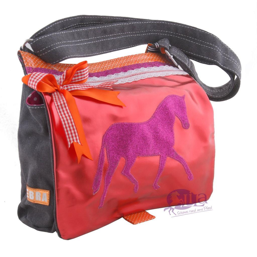 Geschenke Für Reiter  Tasche Pferd rot pink Geschenke für Reiter