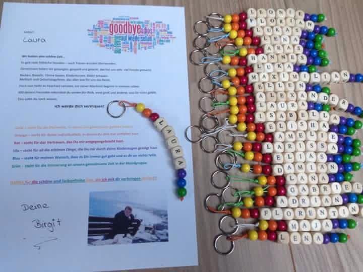 Geschenke Für Vorschulkinder  Abschiedsgeschenk für Kinder Kindergarten …