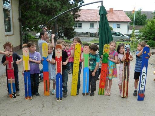 Geschenke Für Vorschulkinder  Zaunlatten gestalten