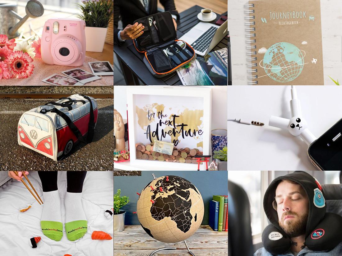 Geschenke Für Weltenbummler  40 besondere Reise Geschenke für Weltenbummler – Try And