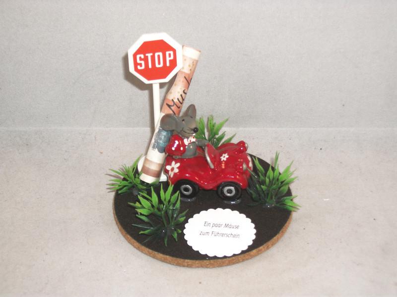 Geschenke Fürs Auto  Geschenke für Frauen Geldgeschenk Mäuse Führerschein