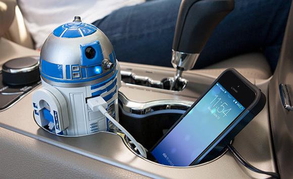 Geschenke Fürs Auto  R2D2 fürs Auto Hobby Drohnen PS4 im Holzlook und weitere