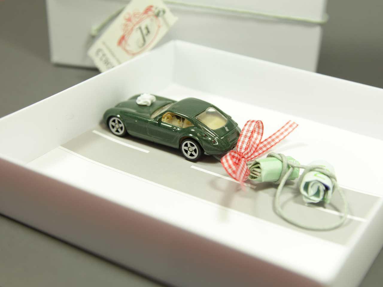 Geschenke Fürs Auto  Geldgeschenk Hochzeit Auto bahn INDIVIDUELL