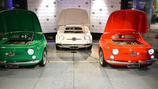 Geschenke Fürs Auto  Geschenke Tipps für Auto Fans Fiat Kühlschrank oder AMG
