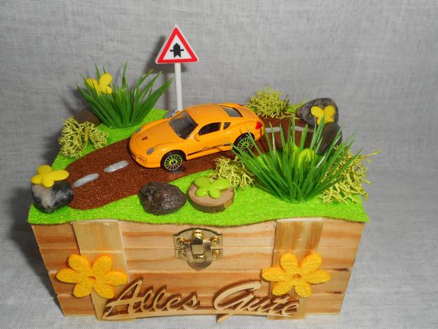 Geschenke Fürs Auto  Geschenke für Frauen Geschenkbox Geldgeschenk