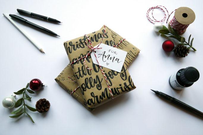 Geschenke Hübsch Verpacken  Letter Lovers lettering by mj zu Gast Herz Kiste