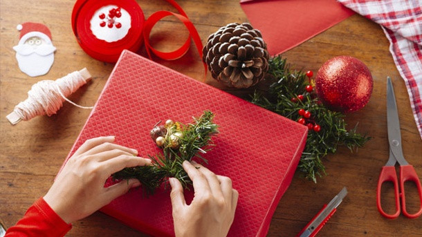Geschenke Hübsch Verpacken  Geschenke schön verpacken Ideen zu Weihnachten