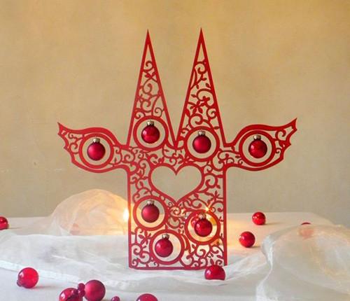 Geschenke Köln  Weihnachtsdeko Dom Kugeltraum 40 cm