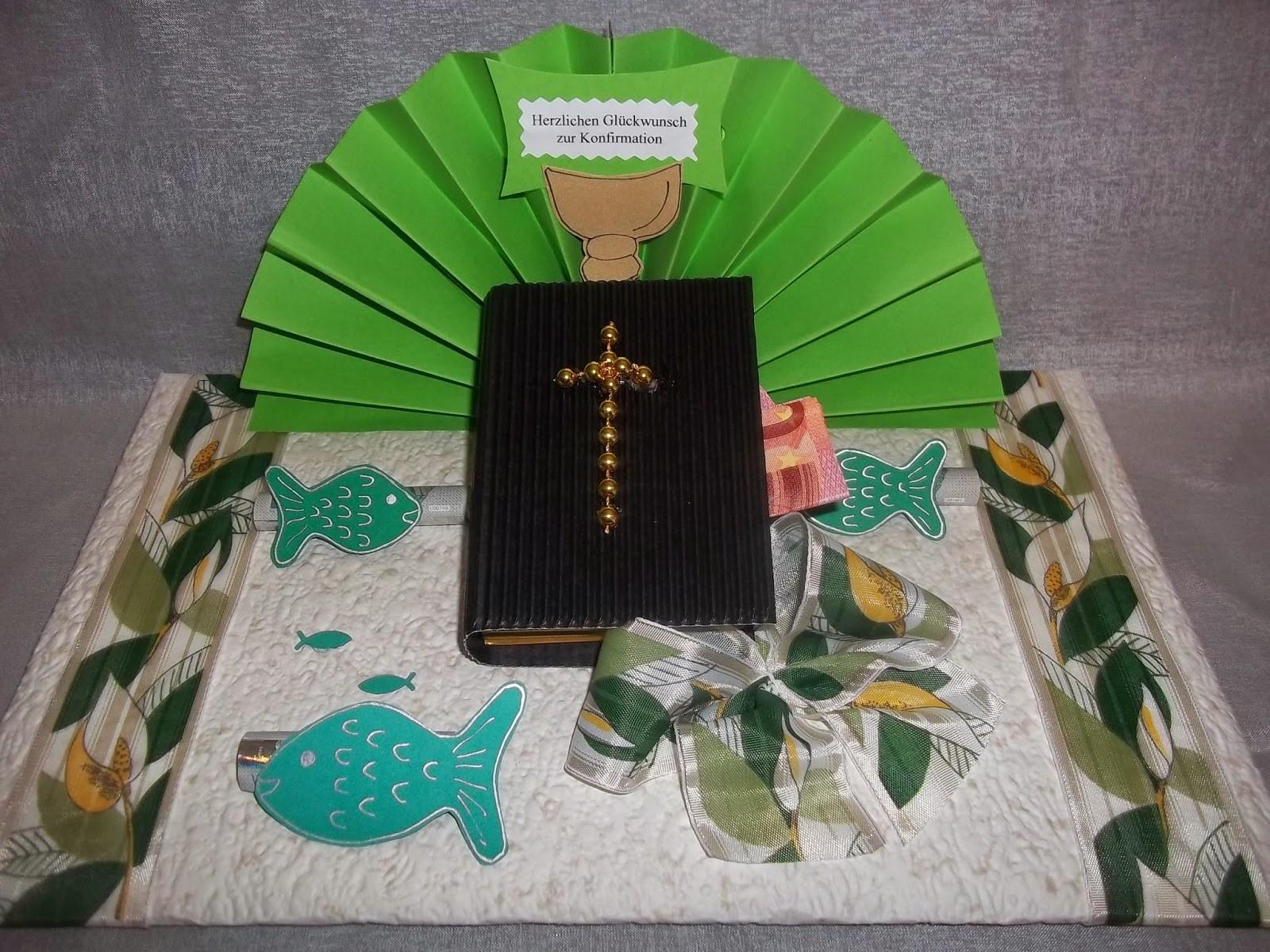 Geschenke Konfirmation  reginabastelt Zur Konfirmation Geldgeschenke und Karten