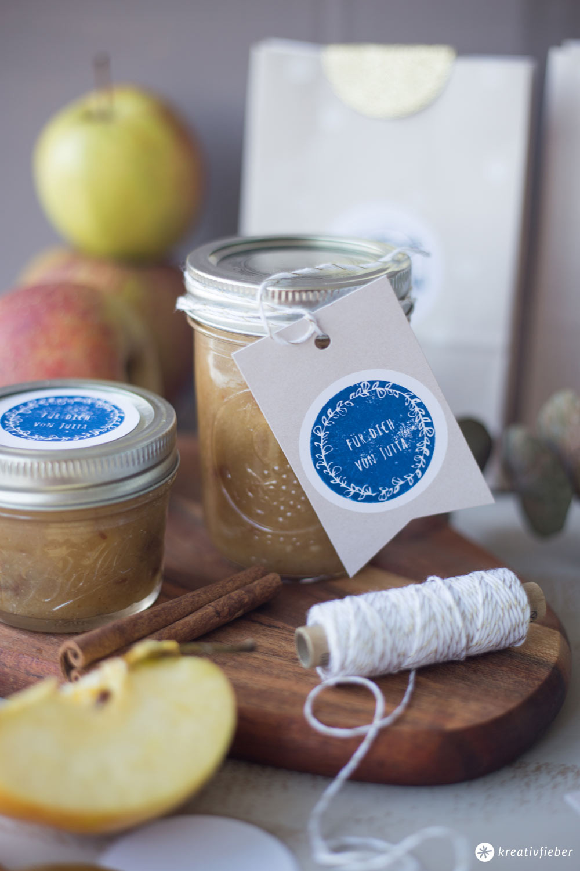 Geschenke Küche  DIY Geschenke aus der Küche Bratapfelmarmelade und NIO