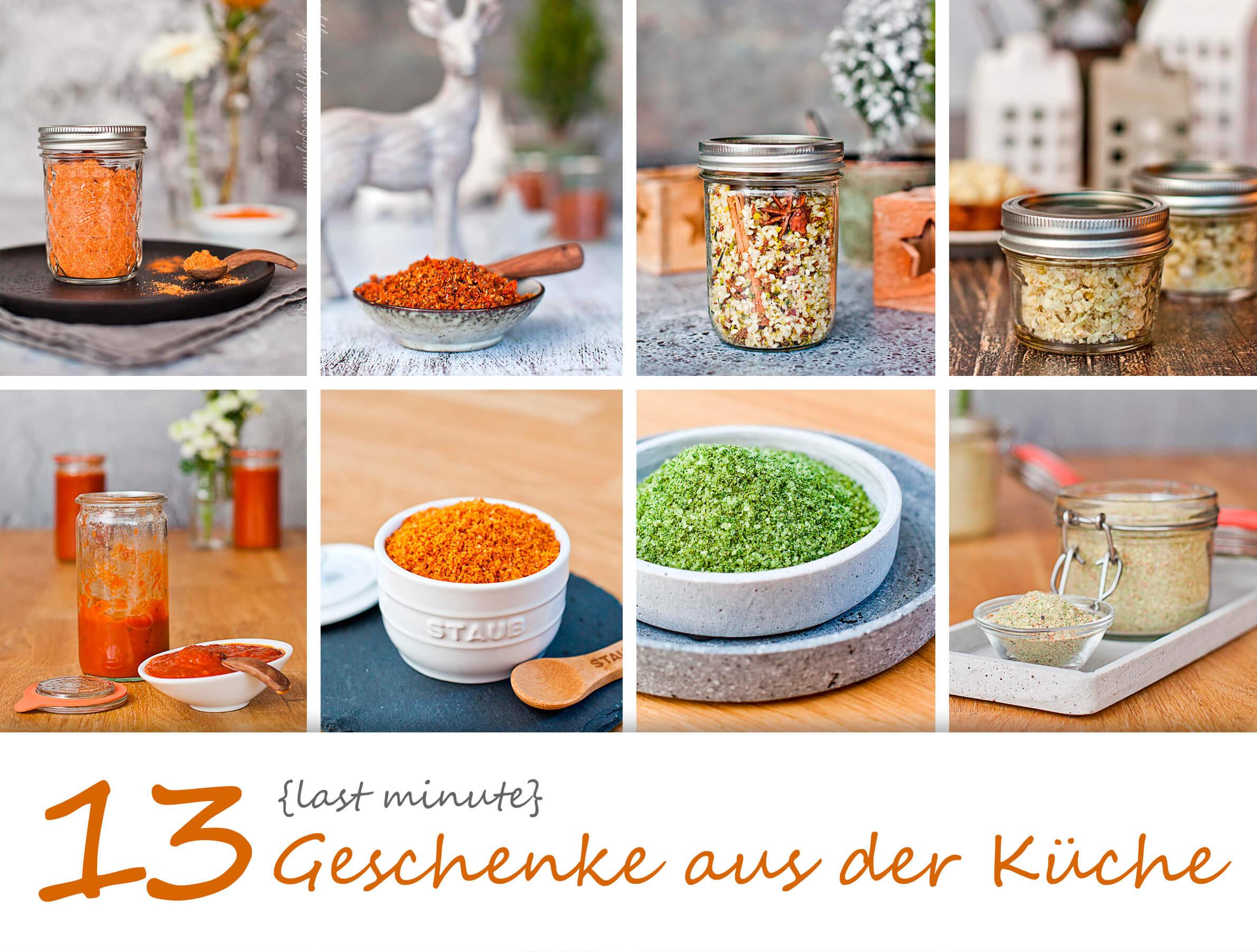 Geschenke Küche  13 Last Minute Geschenke aus der Küche