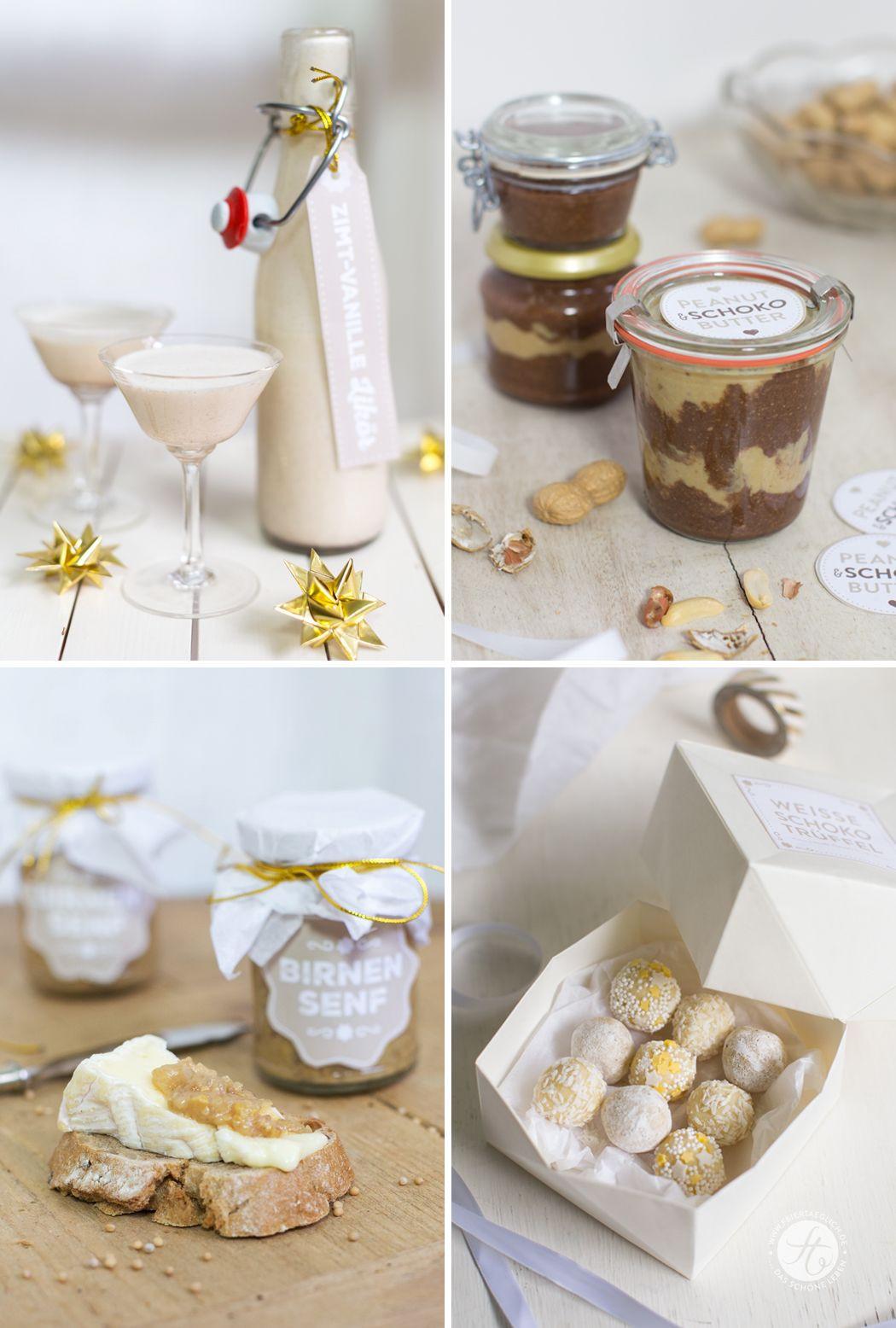 Geschenke Küche  Geschenke aus der Küche Rezepte und Free Printables von