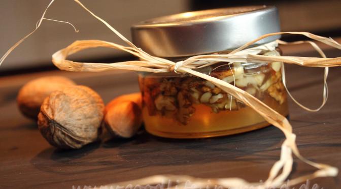 Geschenke Küche  Honig Nuesse Geschenke aus der Kueche