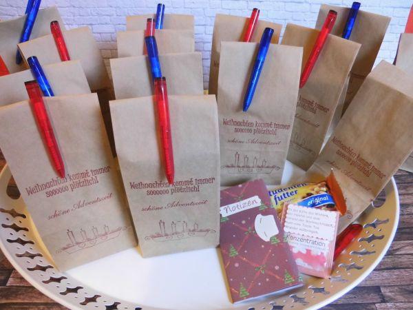 Geschenke Mitarbeiter  kleine wichtelgeschenke