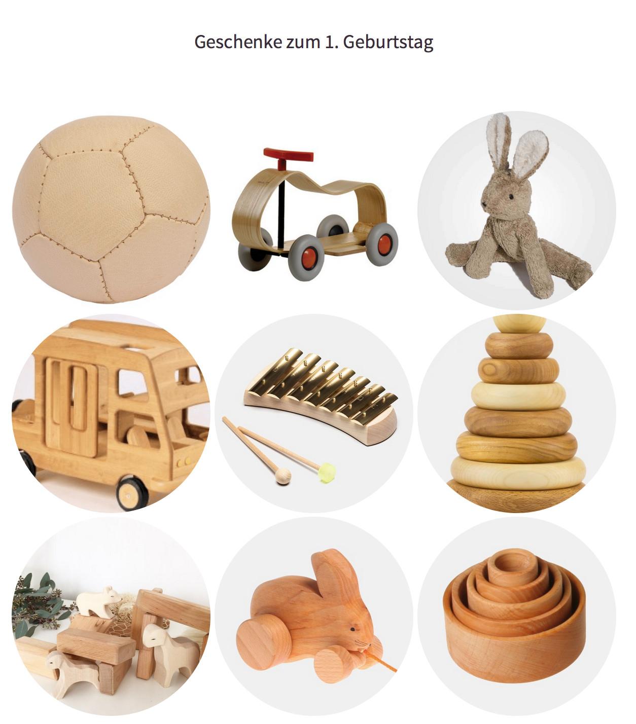 Geschenke Zum 1. Geburtstag  Geschenke zum 1 Geburtstag in Natur Mamablog & Shop