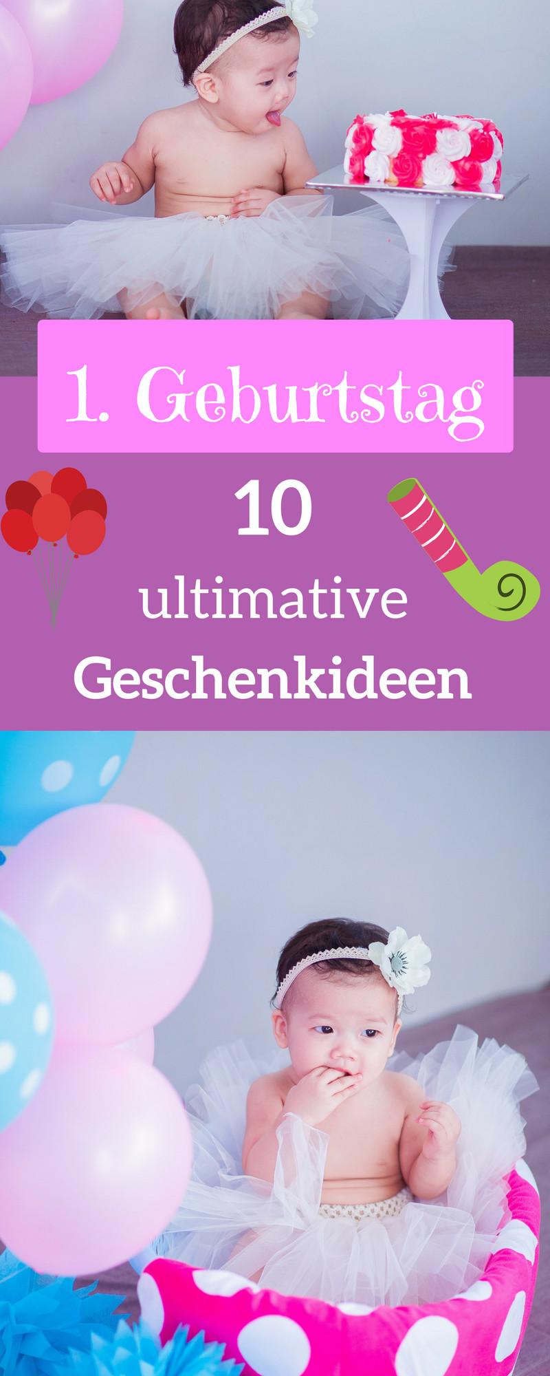 Geschenke Zum 1 Geburtstag Mädchen  Geschenke zum ersten Geburtstag für Mädchen und Jungen