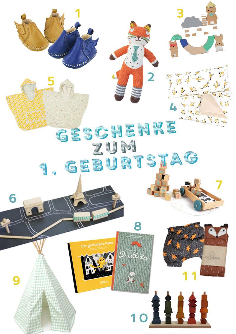 Geschenke Zum 1 Geburtstag Mädchen  geschenke zum 1 geburtstag