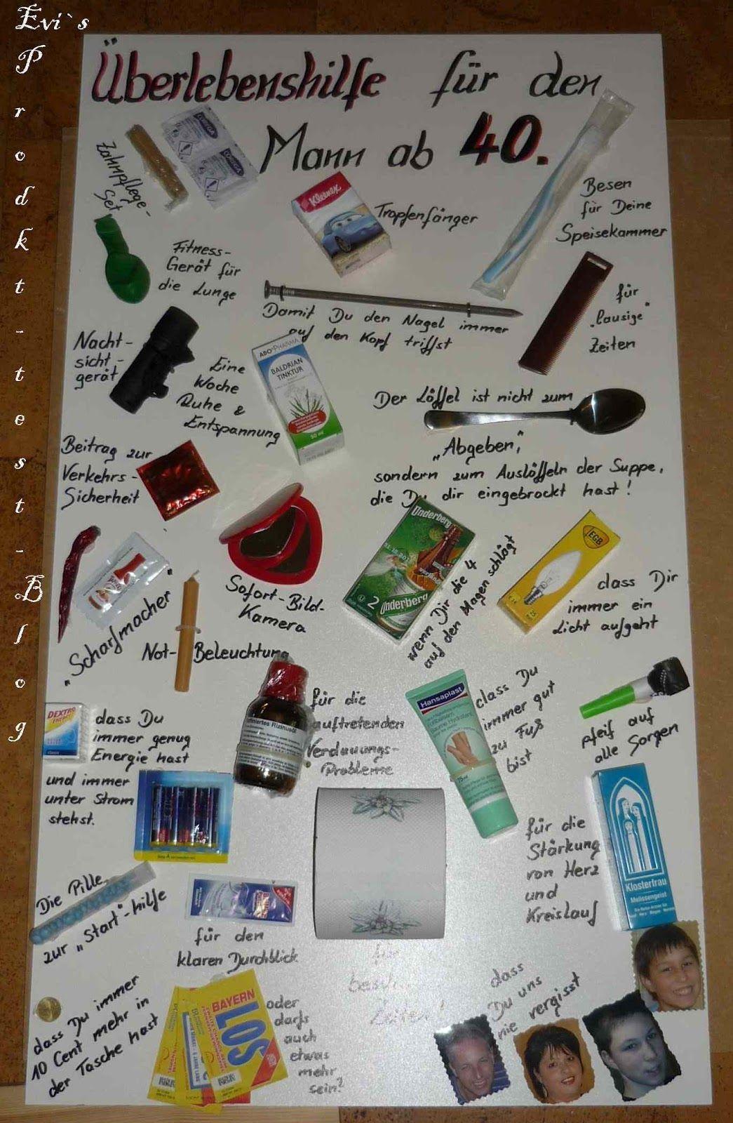 Geschenke Zum 15 Geburtstag  EVI s Produkttestblog Geburtstagsgeschenk zum 40