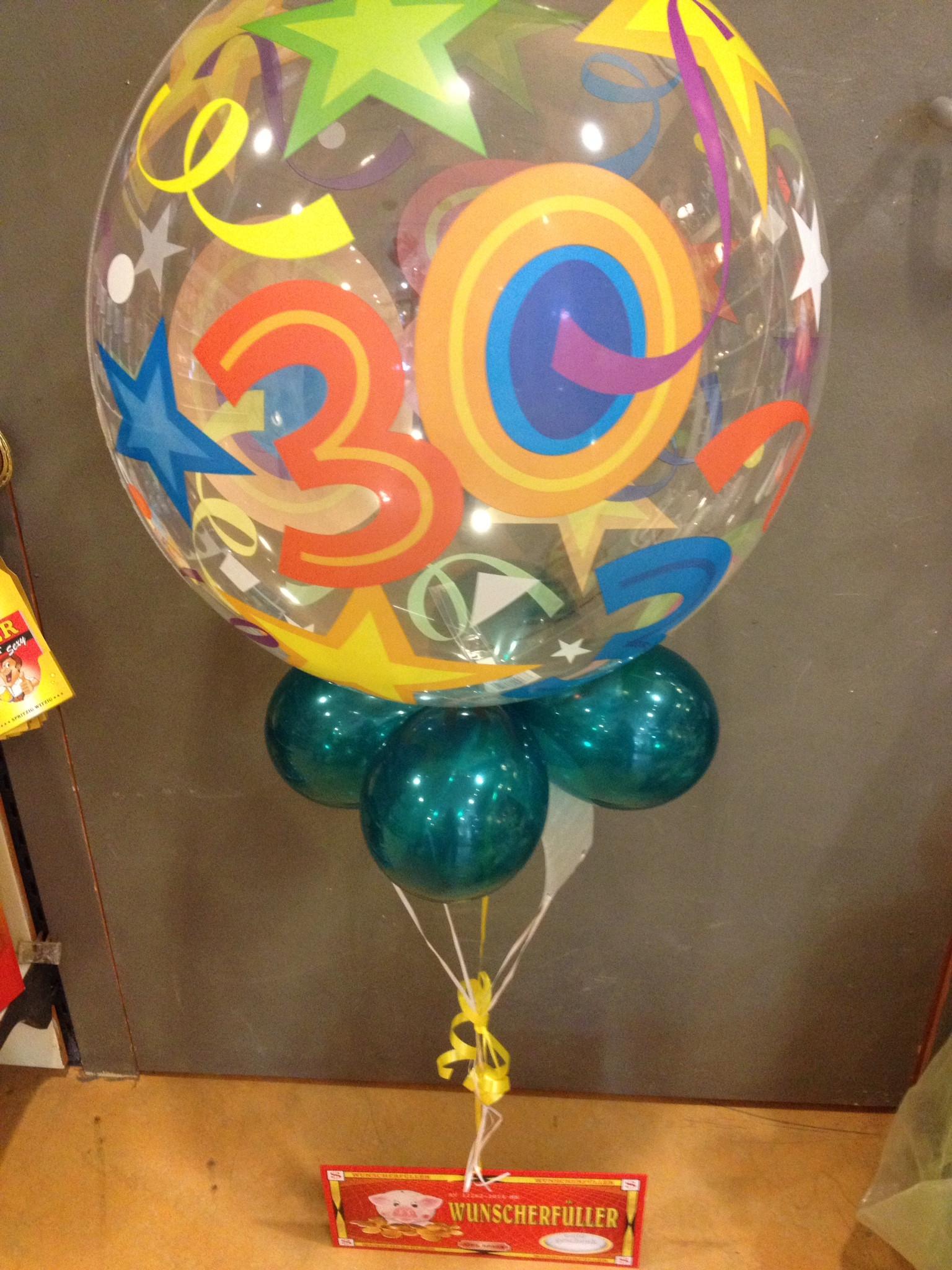 Geschenke Zum 15 Geburtstag  Geschenke im Ballon