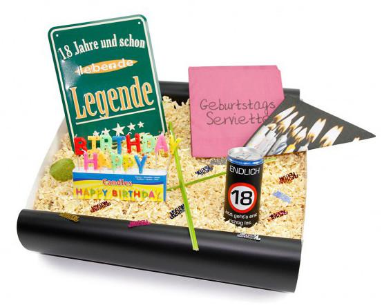 Geschenke Zum 18.  Geschenke zum 18 Geburtstag