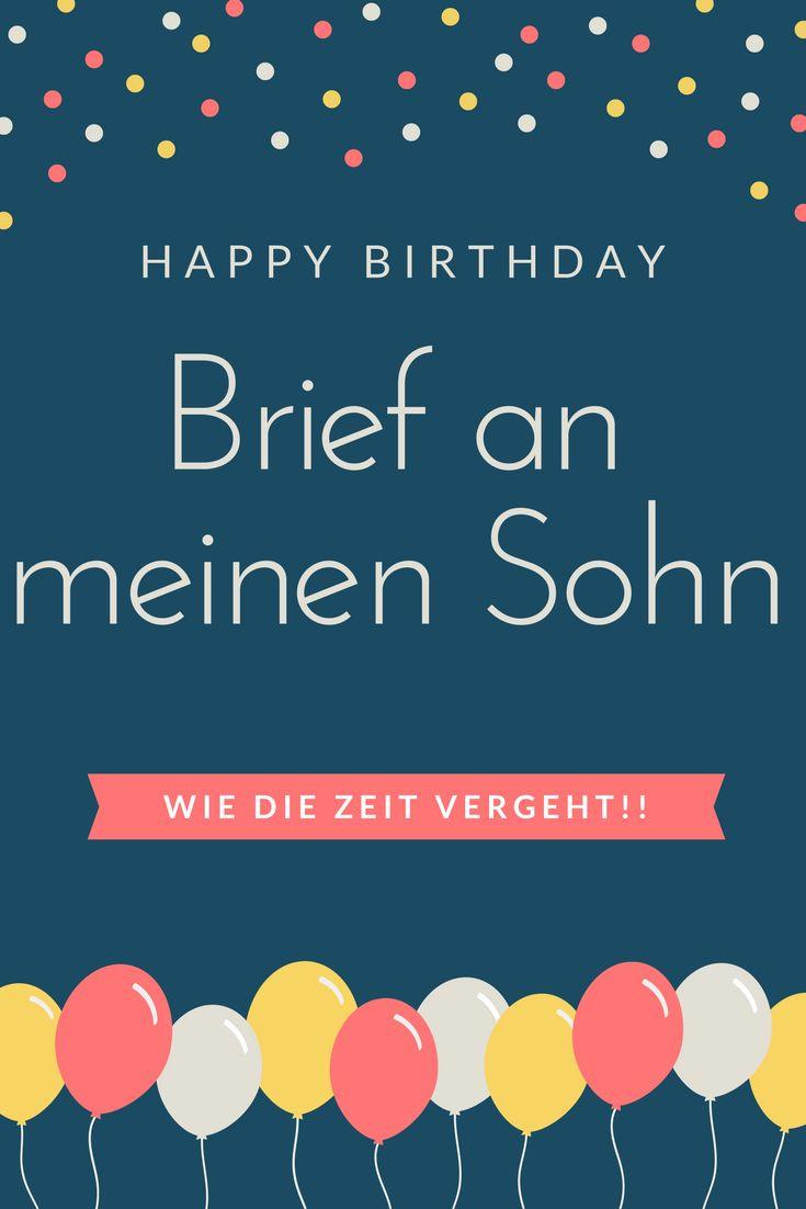 Geschenke Zum 18. Geburtstag Sohn  Die besten 25 Zitate zum Geburtstag des Sohnes Ideen auf