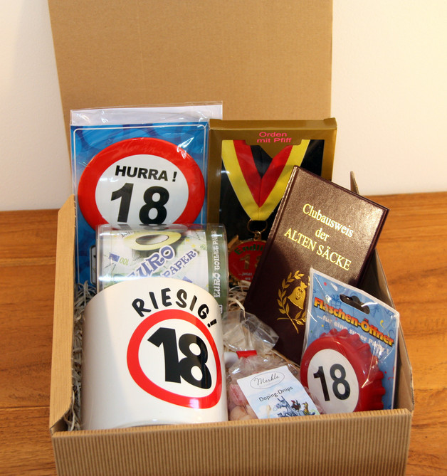 Geschenke Zum 18. Geburtstag Sohn  Geschenke für Frauen Geschenkidee 18 Geburtstag Junge
