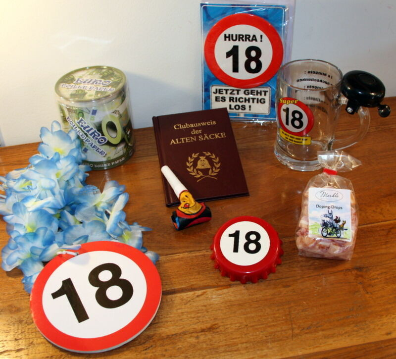 Geschenke Zum 18 Junge  18 GEBURTSTAG Geschenk Junge Geschenkidee