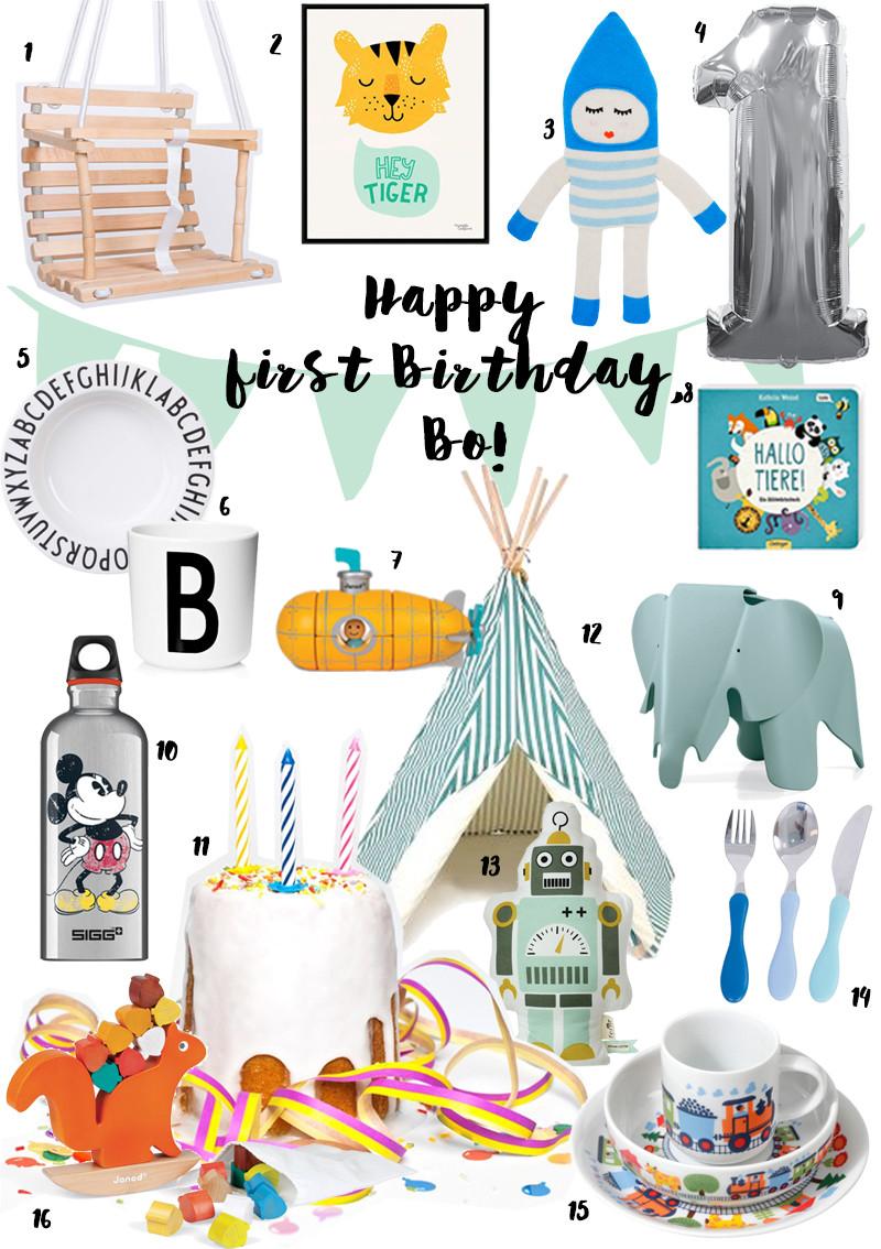 Geschenke Zum 2 Geburtstag  Geschenkideen zum ersten Geburtstag