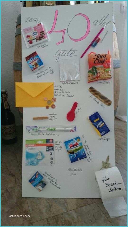 Geschenke Zum 25. Geburtstag  Lustige Geschenke Zum 50 Geburtstag Selber Basteln Gut Die