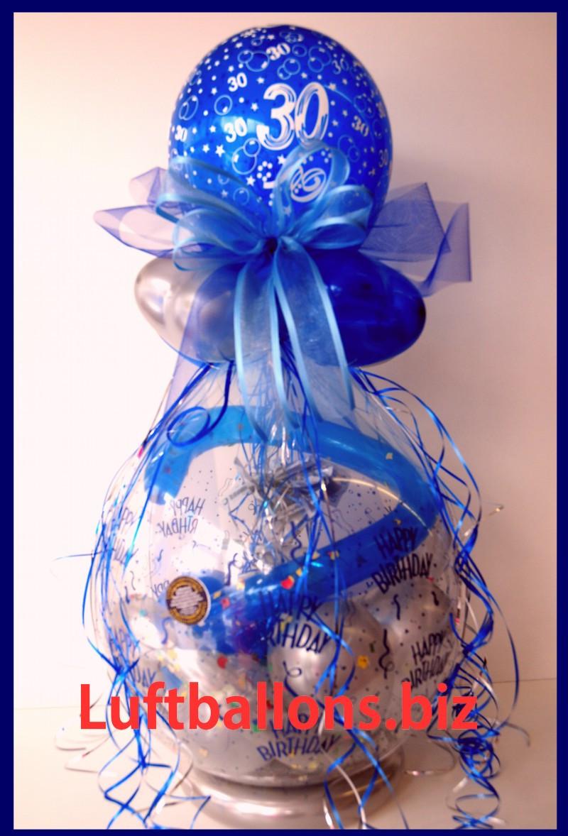 Geschenke Zum 30  Geschenkballon Luftballon zum Verpacken von Geschenken