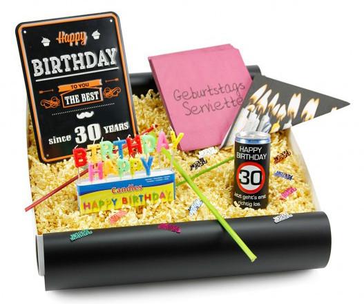 Geschenke Zum 30  Geschenke zum 30 Geburtstag