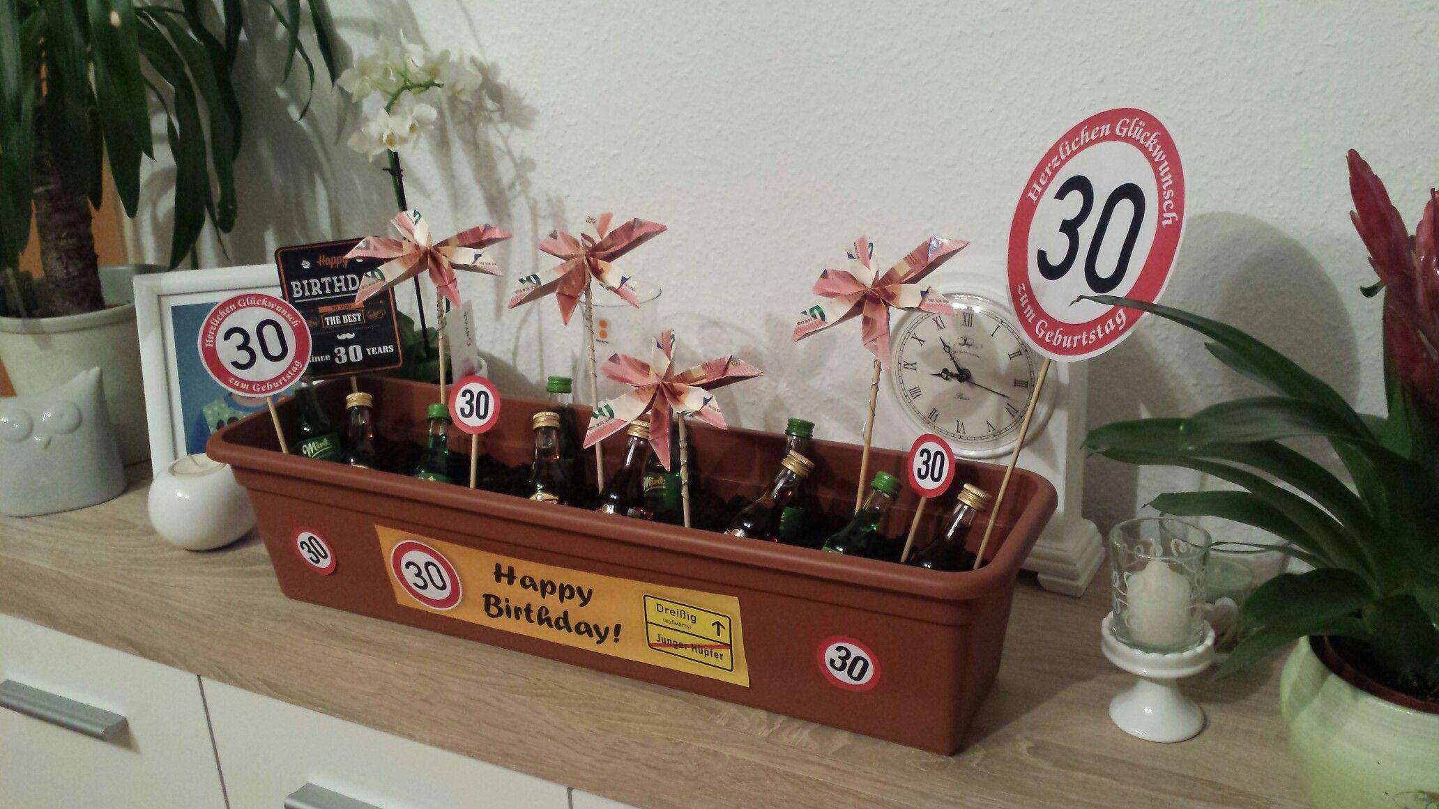 Geschenke Zum 30 Männer  30 Geburtstag Geschenk Männer Kräutergarten