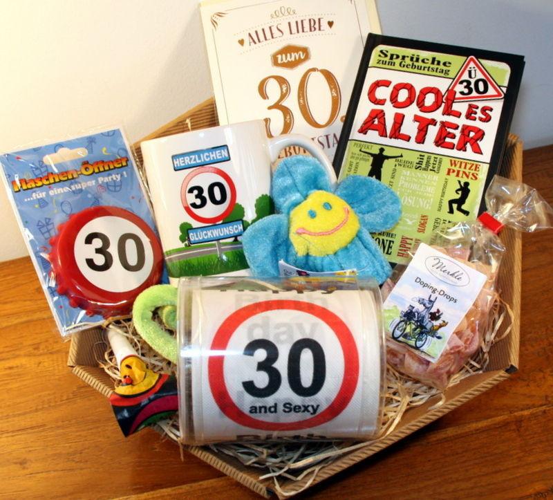 Geschenke Zum 50 Geburtstag Männer  30 Geburtstag Geschenk Mann Geschenkidee