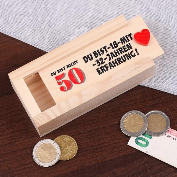Geschenke Zum 50 Geburtstag Männer  Geldgeschenk zum 50 Geburtstag