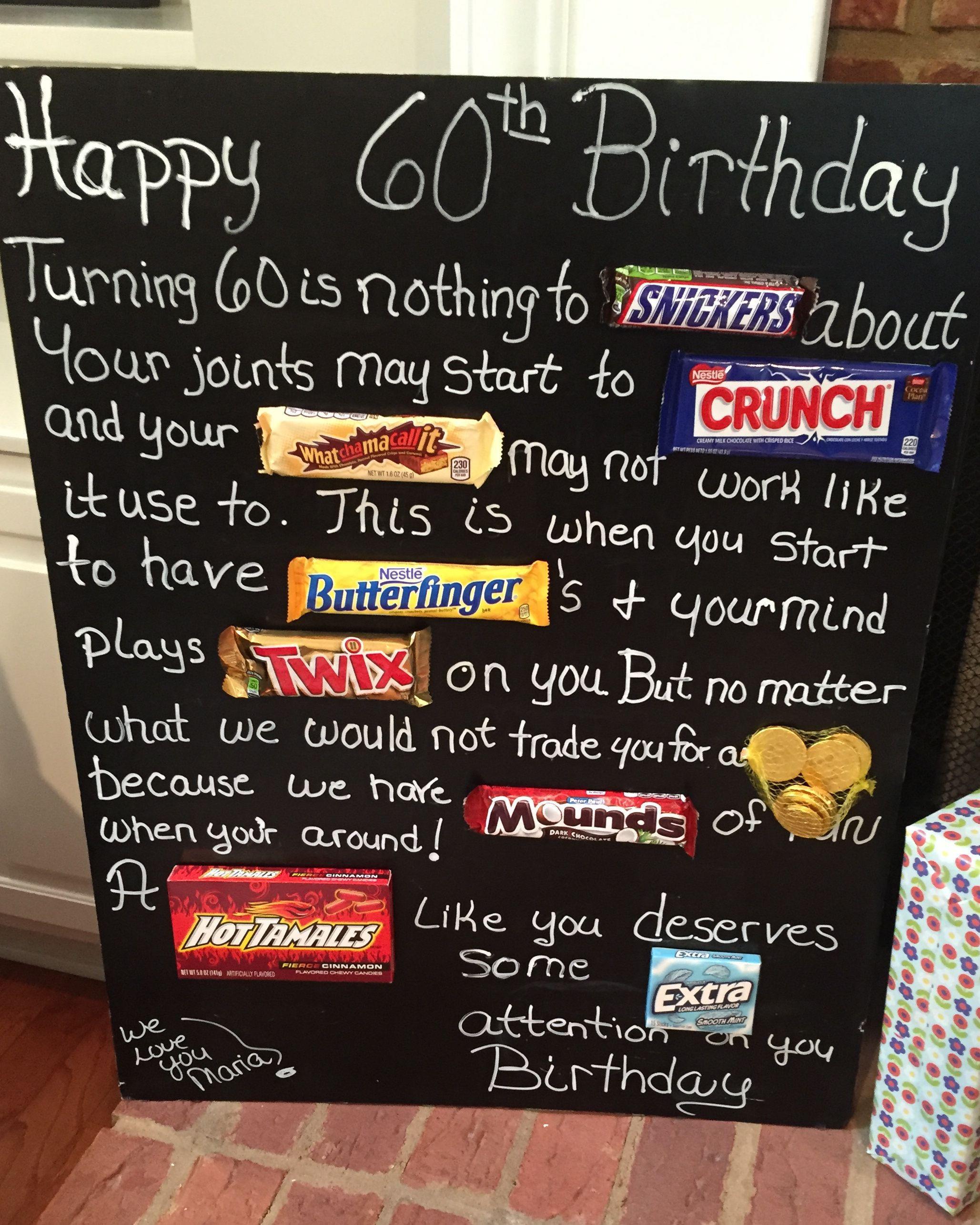 Geschenke Zum 60.Geburtstag  Lustige Geschenke Zum 60 Geburtstag Basteln