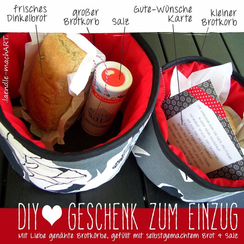 Geschenke Zum Einzug Ins Haus  DIY Geschenk zum Einzug HANDMADE Kultur