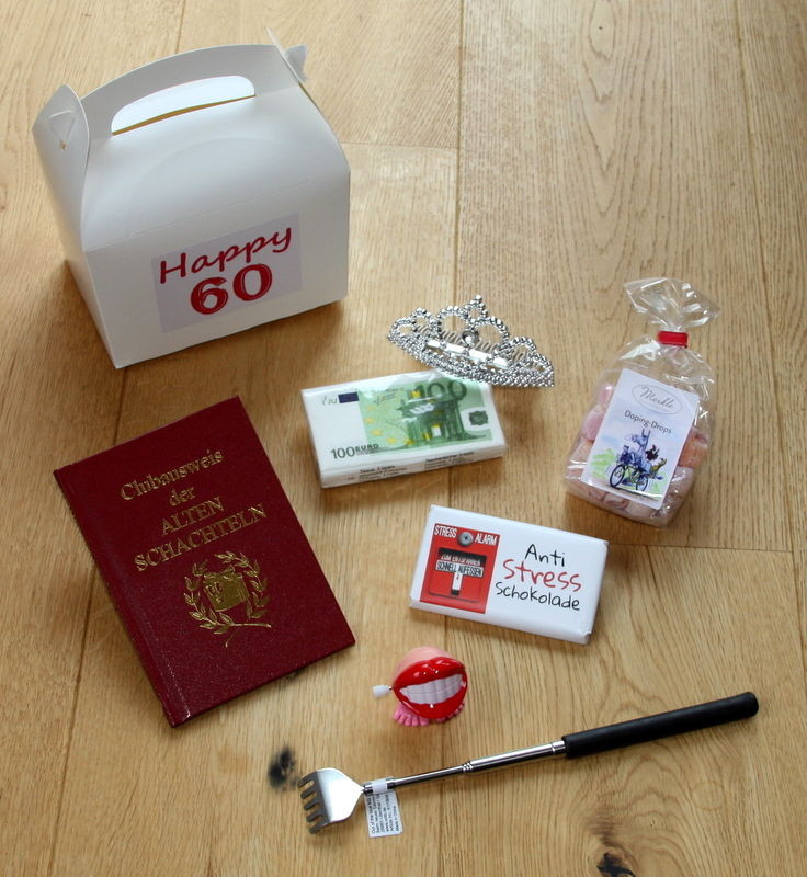 Geschenke Zum Geburtstag Frau  60 Geburtstag Geschenk Idee 60er Geschenke Geschenkidee