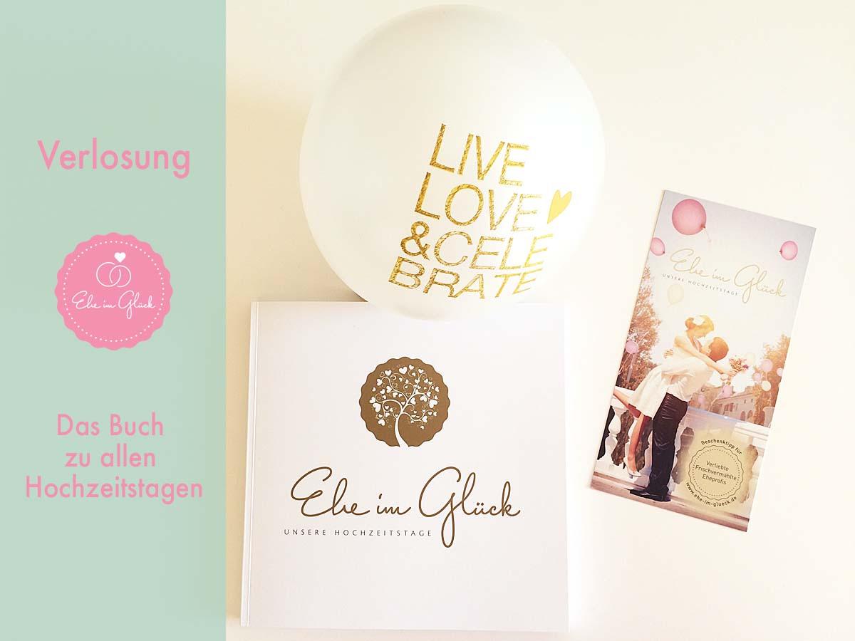 Geschenke Zum Halbjährigen  Hochzeitstage Buch Buchvorstellung mit Verlosung