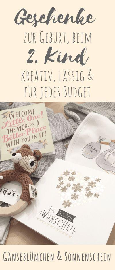 Geschenke Zur Geburt 2 Kind  Die 25 besten Ideen zu Geschenk geburt auf Pinterest