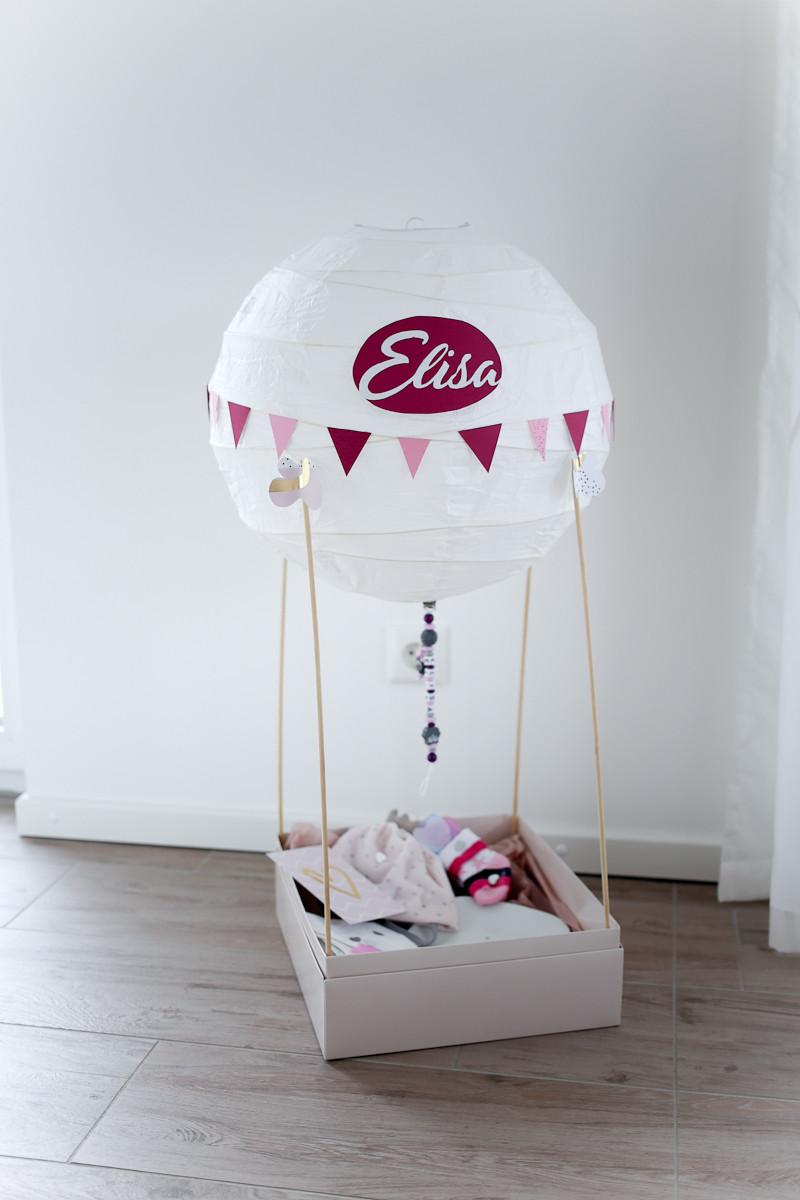 Geschenke Zur Geburt 2 Kind  Geschenk zur Geburt Heißluft Ballon Some Kind of Fashion