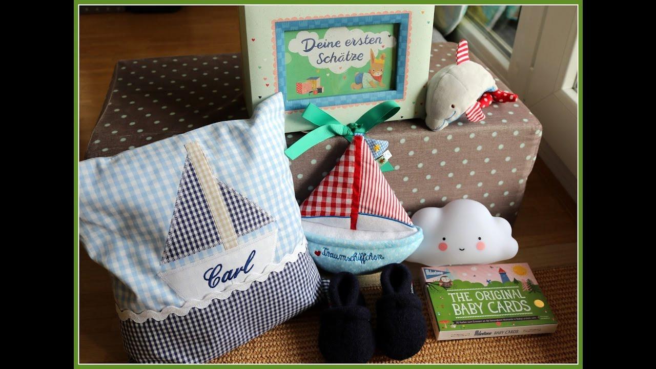 Geschenke Zur Geburt 2 Kind  Geschenke zur Geburt Baby Jungen Haul