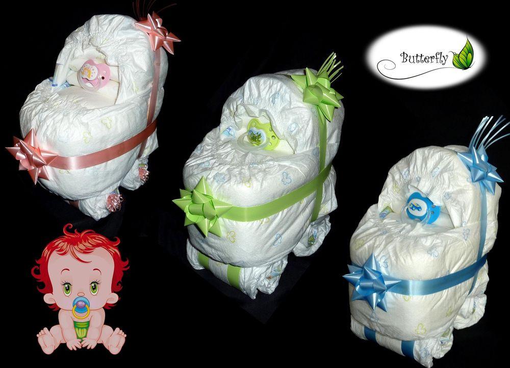 Geschenke Zur Geburt Junge  Windeltorte Kinderwagen Geschenk zur Geburt Taufe