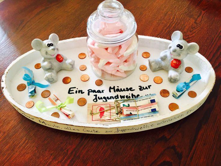 Geschenke Zur Jugendweihe Jungen  Ein paar Mäuse zur Jugendweihe – Geldgeschenk mal anders