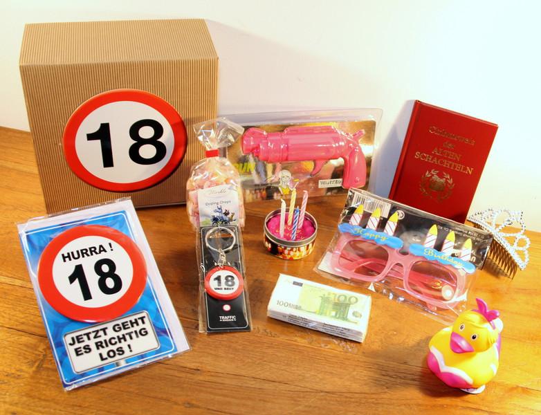 Geschenkideen 18 Geburtstag Mädchen  Geschenke für Frauen 18 Geburtstag Geschenkbox