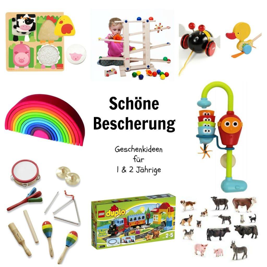 Geschenkideen 3 Jährige  Schöne Bescherung Geschenkideen für 1 & 2 Jährige