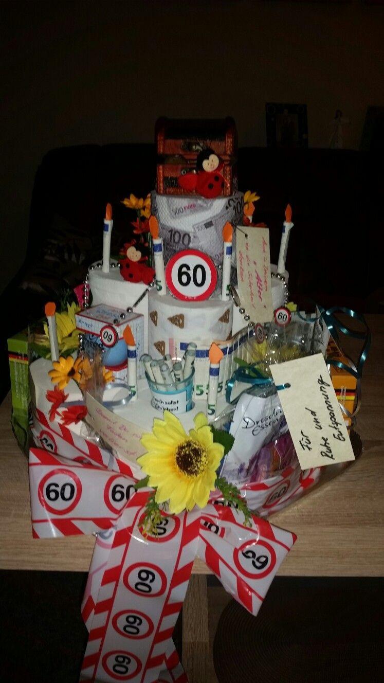 Geschenkideen 60 Geburtstag Frau Basteln  Geschenk zum 60 Geburtstag