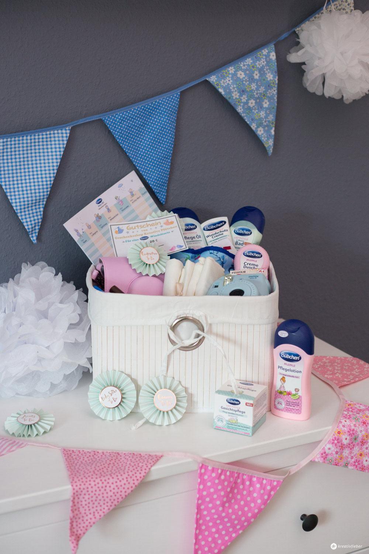Geschenkideen Babyparty  5 Tipps für eine DIY Baby Shower mit Gewinnspiel DIY